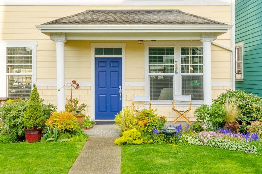 Yellow Front Door Paint Colors