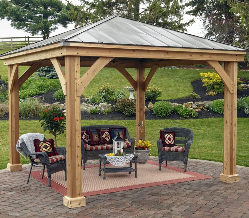 beautiful wooden sofa designs laptop table stand 38 backyard pavilion ideas (design pictures ...