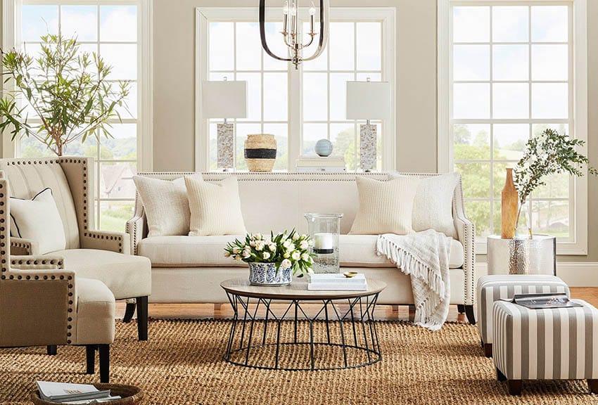coastal design living room storage units argos beach themed on a budget designing idea style with jute area rug