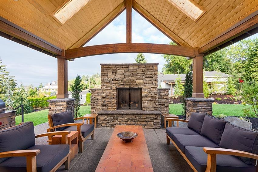 38 beautiful backyard pavilion ideas