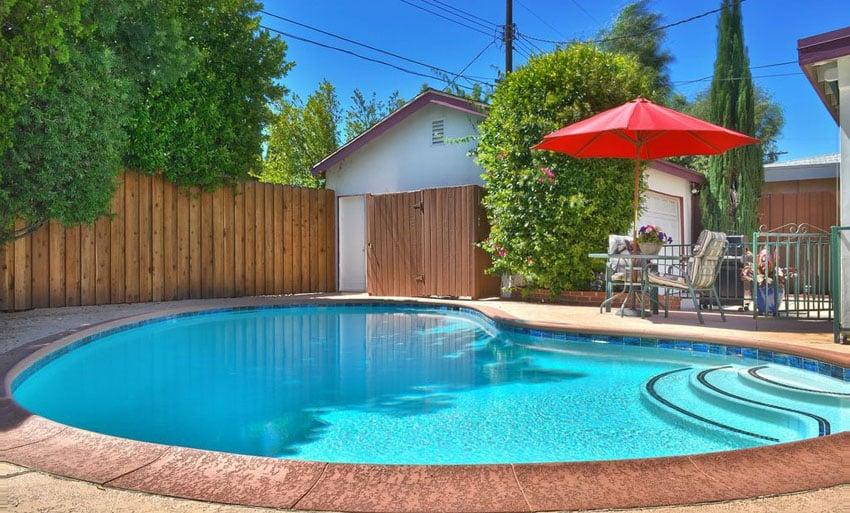 27 Best Kidney Shaped Pool Designs  Designing Idea