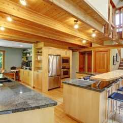 Cleaning Kitchen Wood Cabinets Formica Log Cabin Kitchens (cabinets & Design Ideas) - Designing Idea