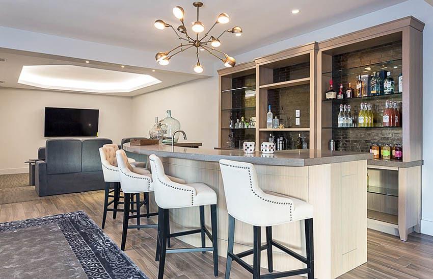 Living Room Bar Ideas  Designing Idea
