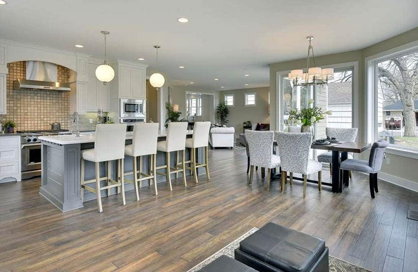 29 Open Kitchen Designs With Living Room Designing Idea