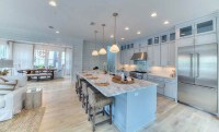 29 Open Kitchen Designs with Living Room - Designing Idea