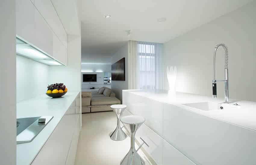 designing kitchen cabinets john boos islands 19 small modern white designs - idea