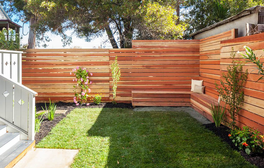 33 privacy fence ideas