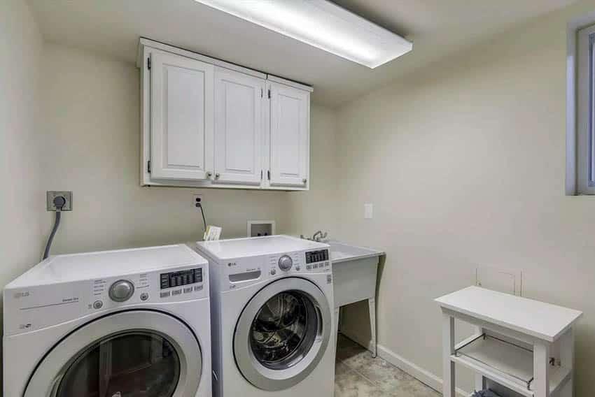 basement laundry room ideas design