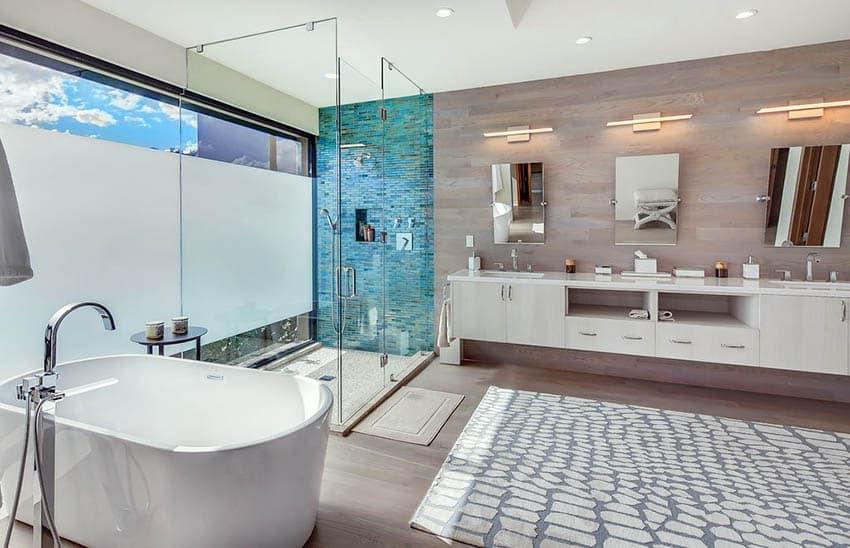 pebble tile shower floor popular