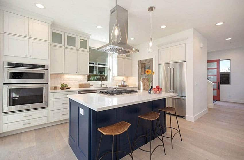 types of kitchen hoods design guide
