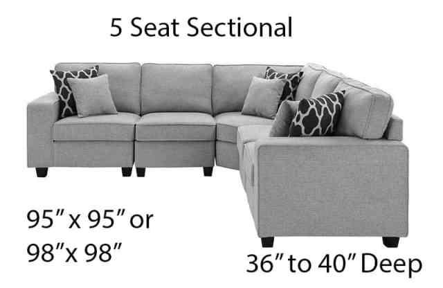 5 koltuk kesit boyutu