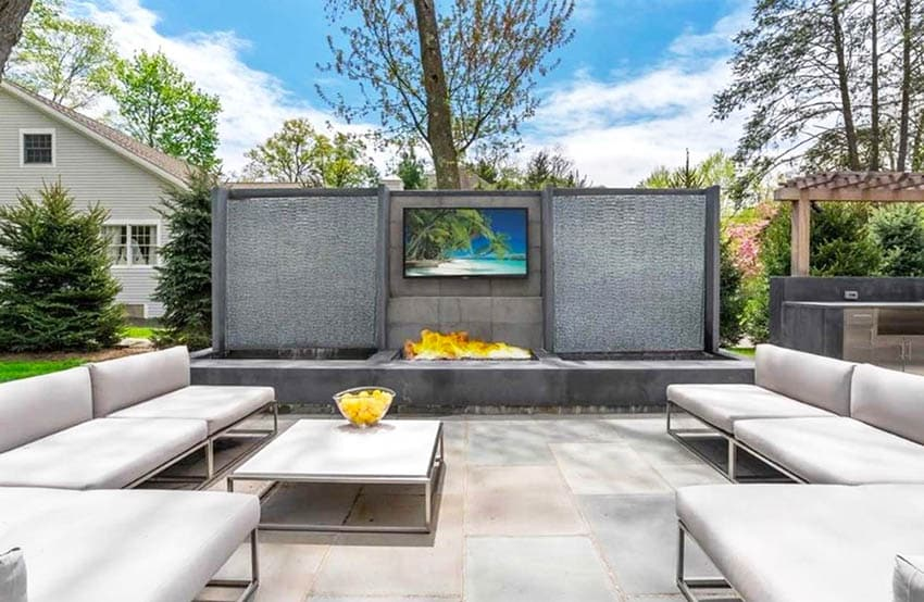 outdoor tv ideas design gallery