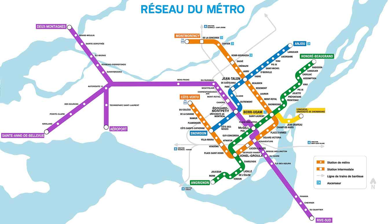 How to Get From YUL Montreal airport to Montreal City Center