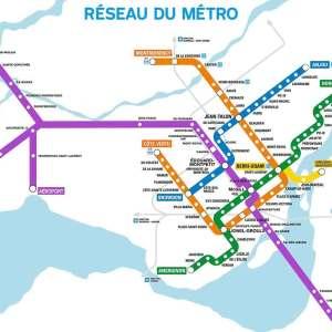 new purple line at YUL