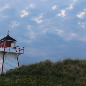 pei beach lighthouse