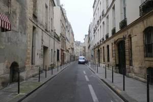 Small Parisian streets
