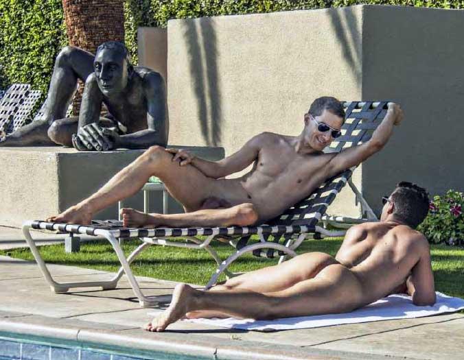 Palm springs gay nude resort