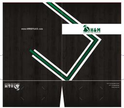 Presentation folder for H&M Real Estate