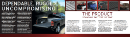 Inner spread of the 201 sales booklet