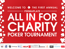 This poster was for Women In Distress' charity poker event and features the branding I applied to the whole event