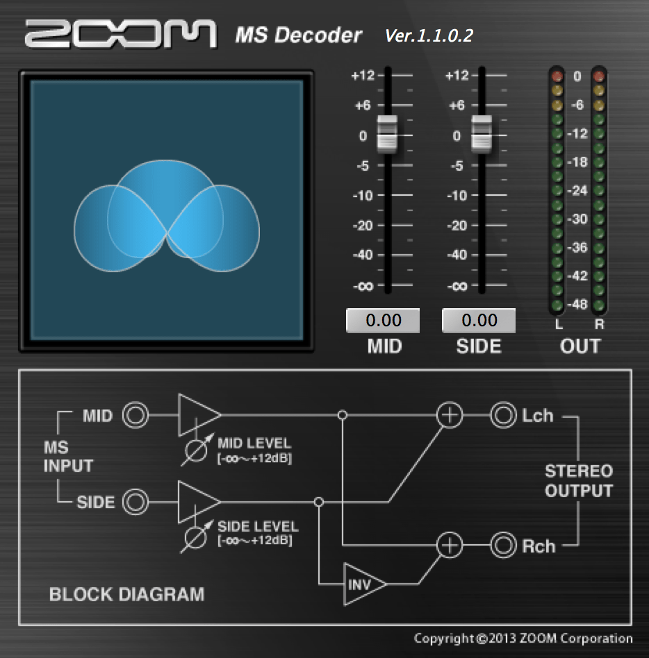 hight resolution of zoom ms decoder vst plug in