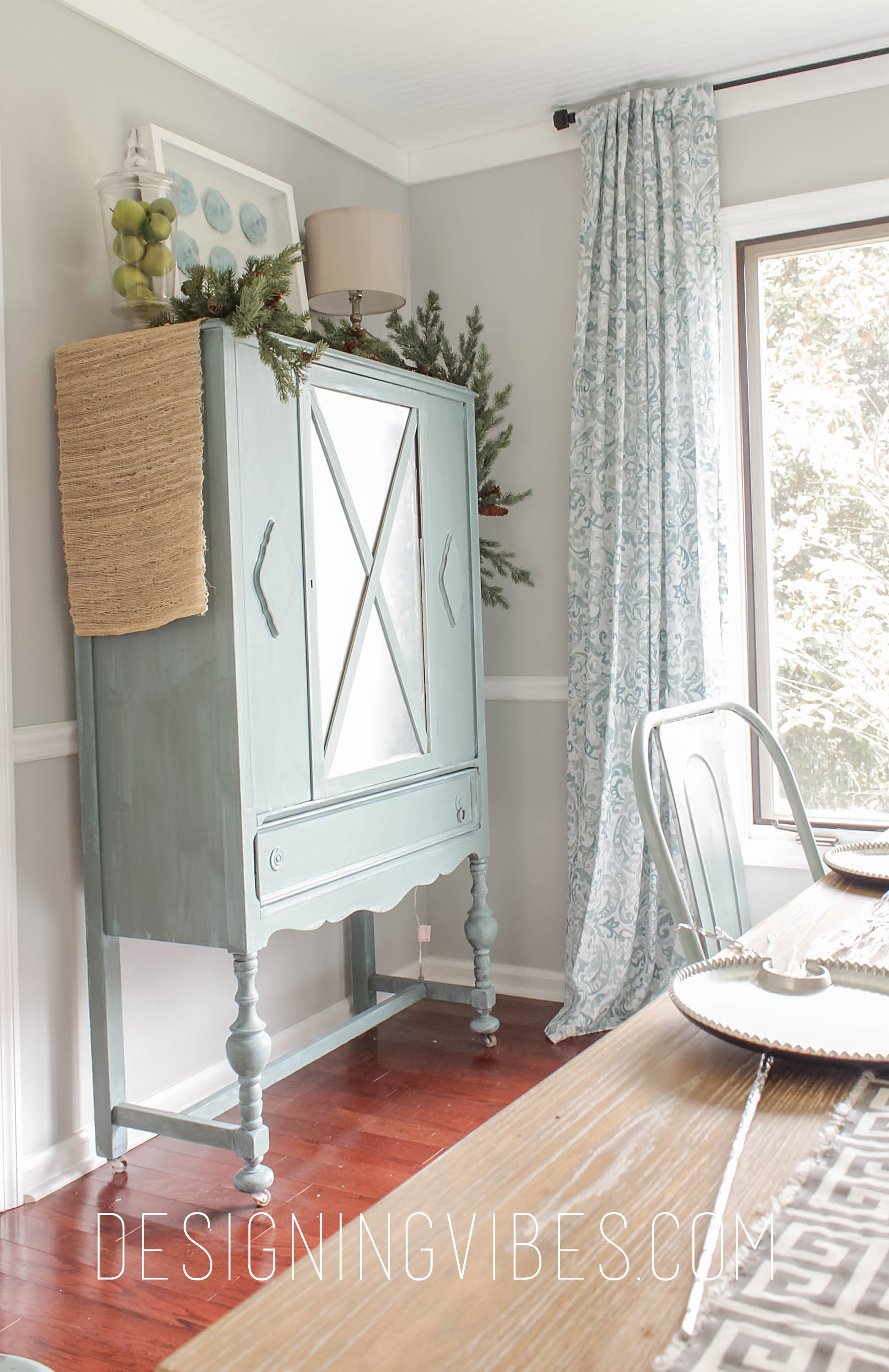 Curio Cabinet 2 And Here Is A Sneak Peek Of My Dining Room Being Prepped For The Holidays