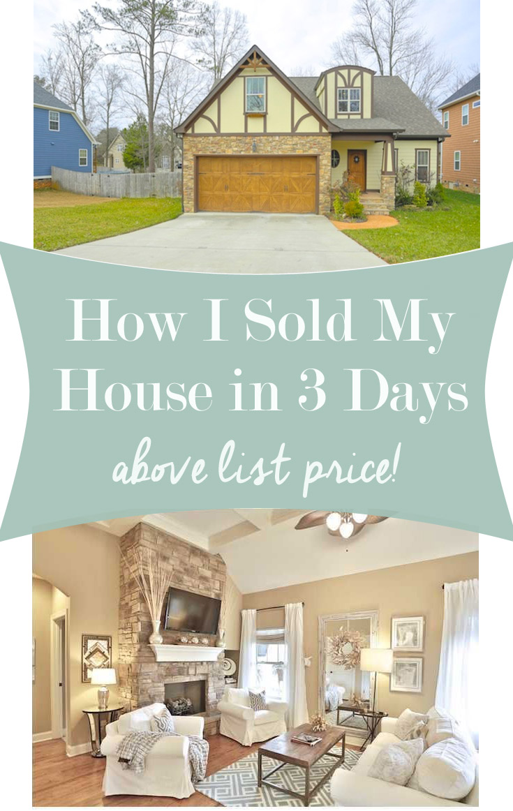 How I Sold My House In Days Above List Price Home Staging