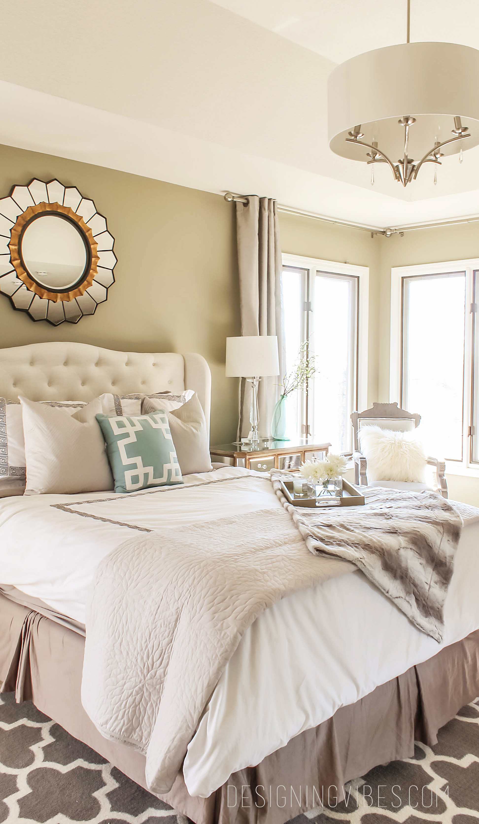 Gray And Turquoise Bedroom. gray and turquoise bedroom Designing Romantic Vibes in the Bedroom  Interior Design