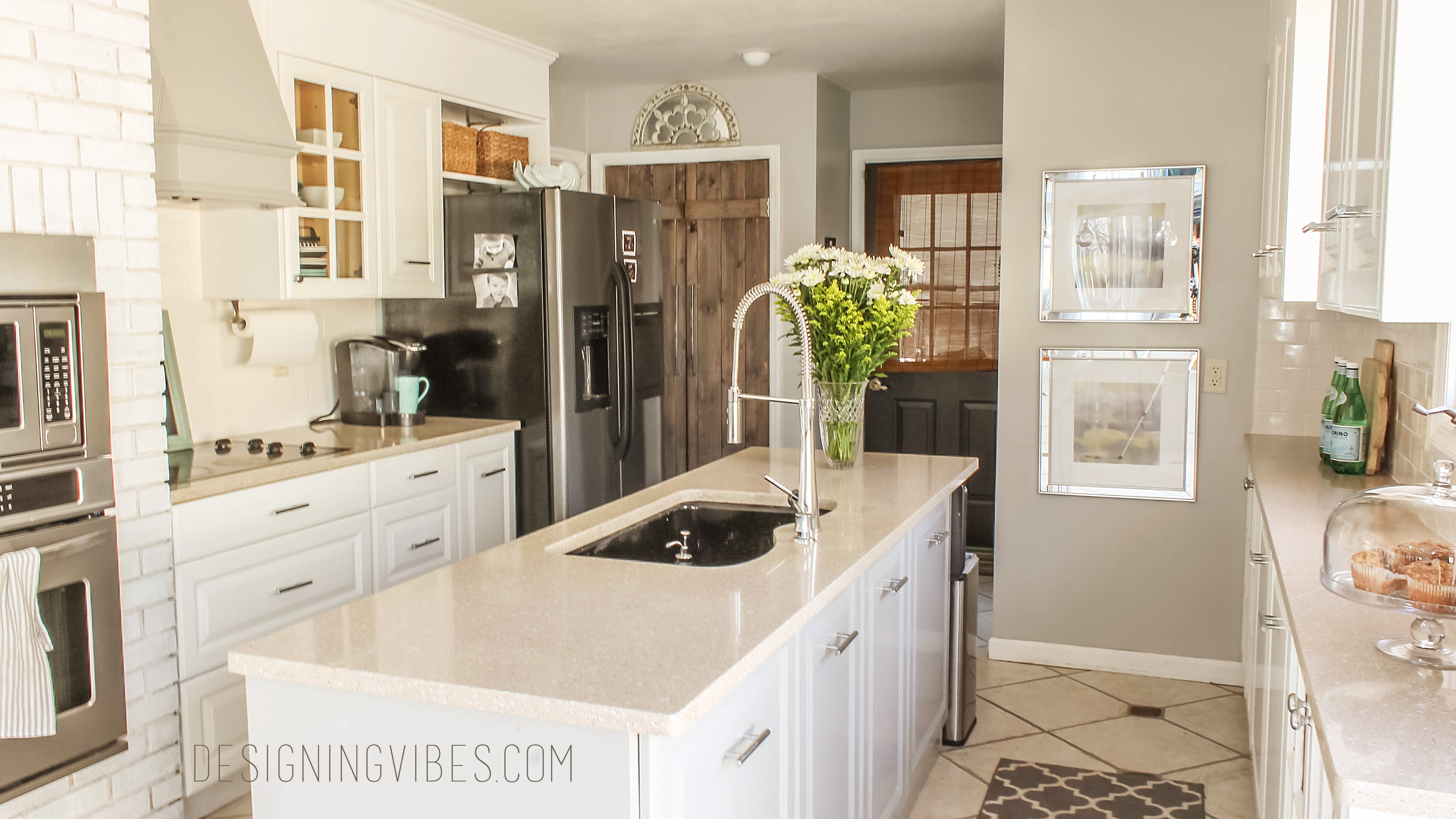 How to Make Kitchen Cabinets Taller - Designing Vibes ...