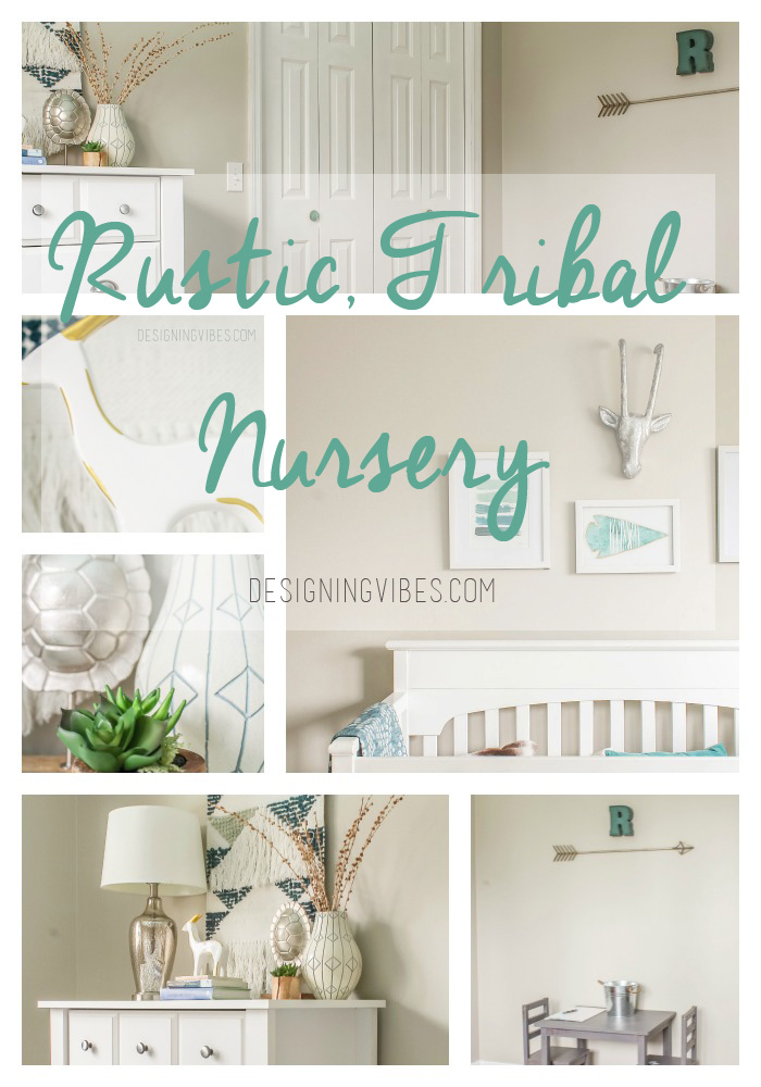rustic nursery for boy