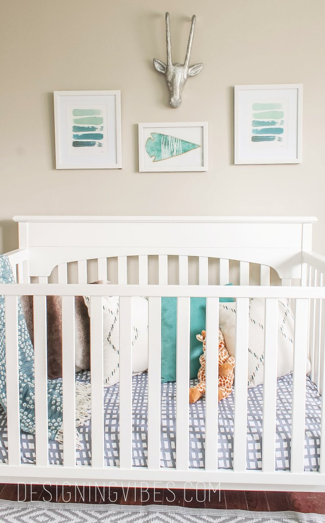 tribal rustic nursery-3