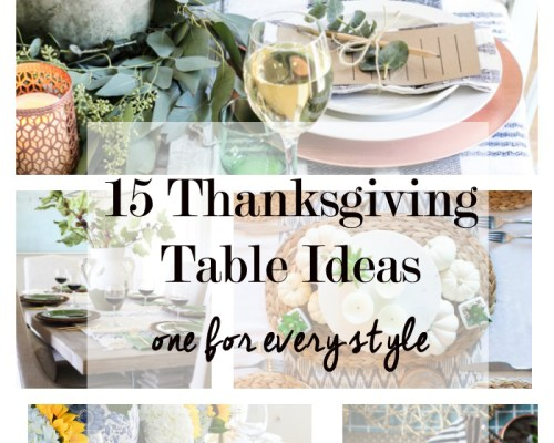 15 tablescape decor ideas