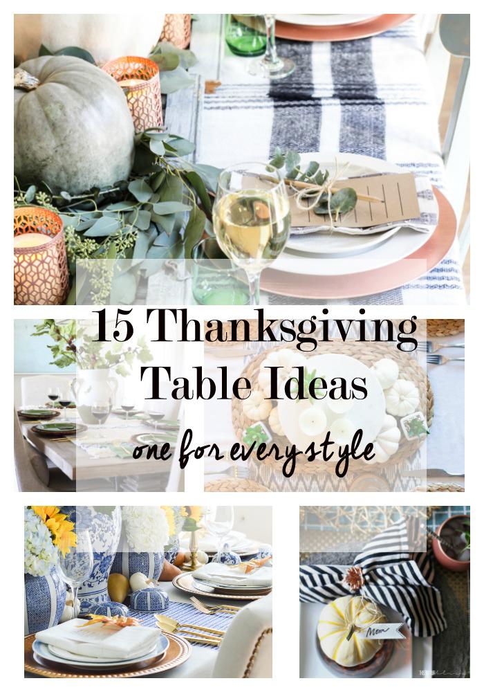 Tablescape Ideas 15 thanksgiving tablescape ideas - thanksgiving table decor
