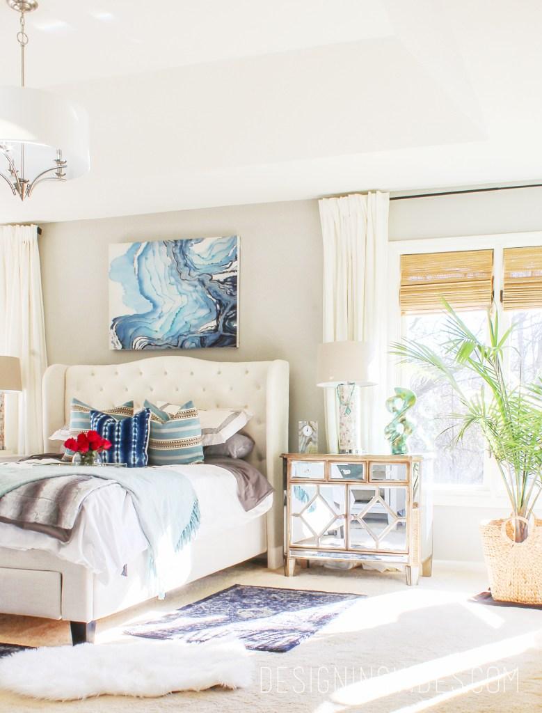 Boho Chic Bedroom Reveal Part 1 - Interior Design