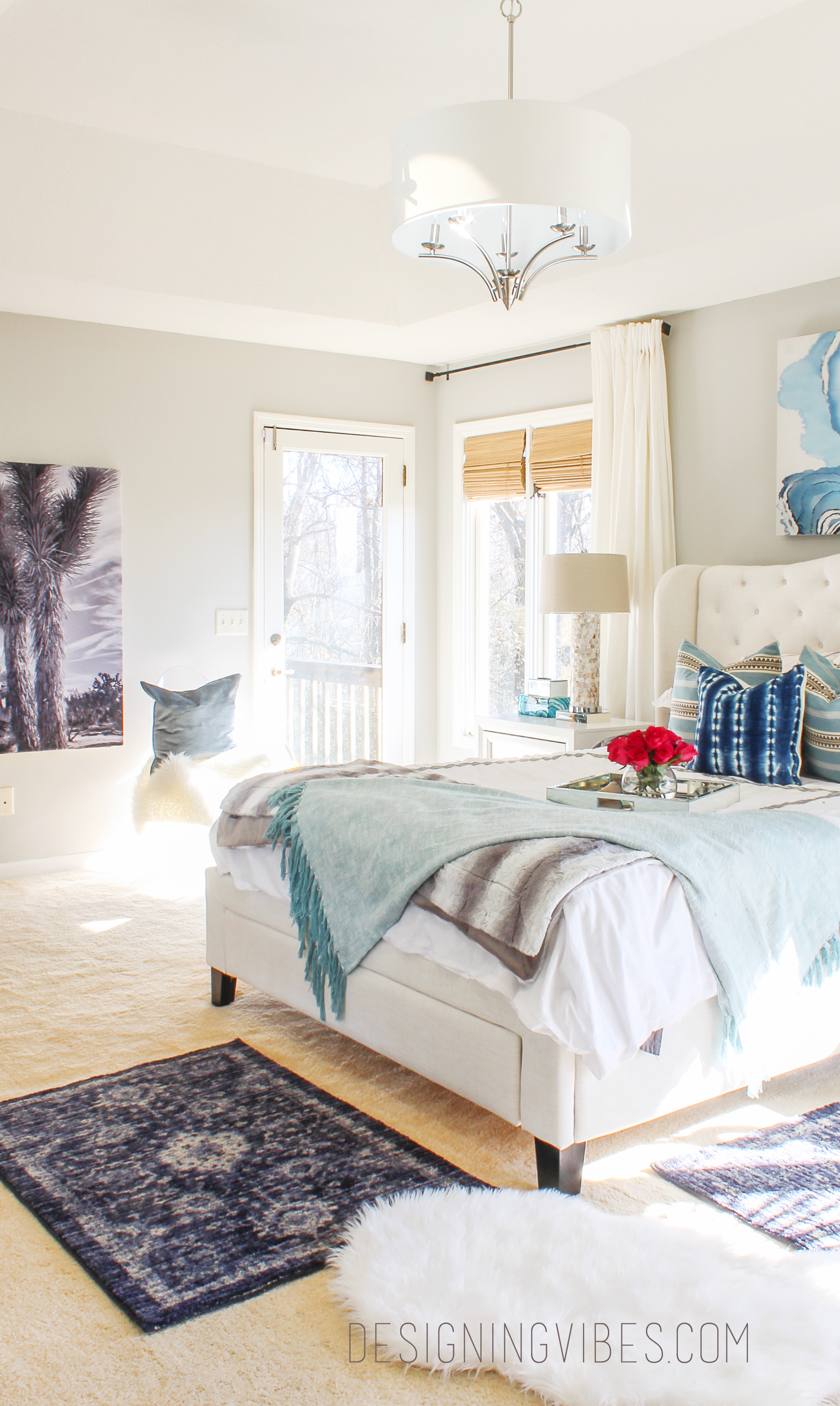 Boho Chic Bedroom Reveal Part 1 Interior Design