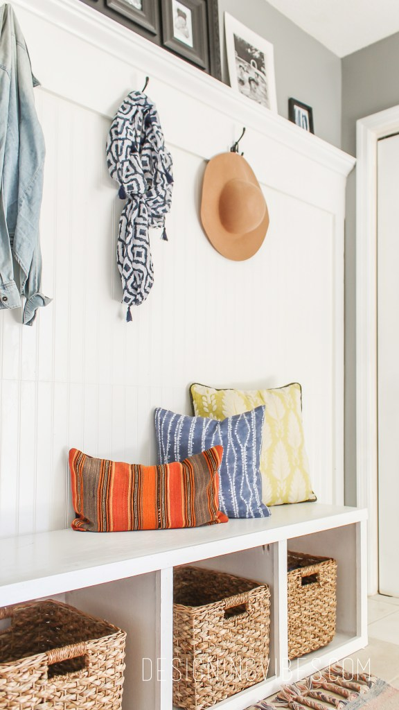 diy custom mudroom under $200 beadboard