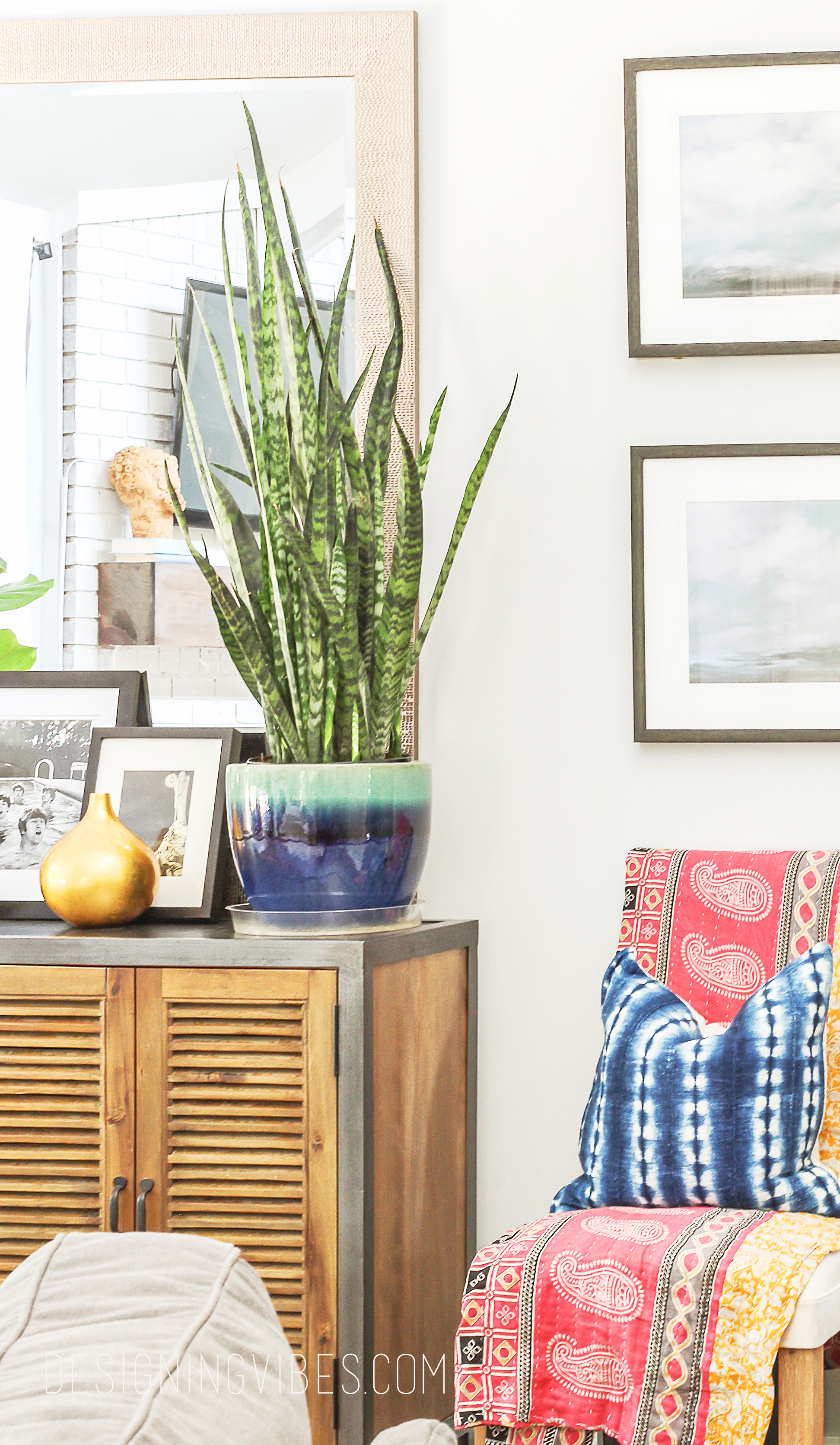 Summer Eclectic Home Tour- Boho Chic Decor
