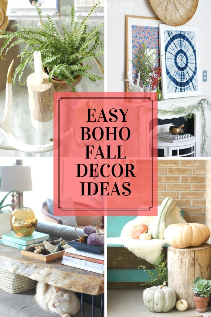 diy boho fall decor ideas that are cheap and easy