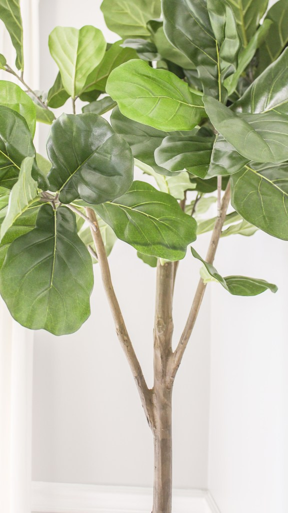 the best faux fiddle leaf fig tree where i got the most realistic fake fig. Black Bedroom Furniture Sets. Home Design Ideas