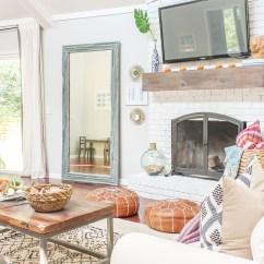 Bohemian Style Living Room Interior Design Ideas Open Plan Boho Chic Fall Home Tour And Decor Tips - ...