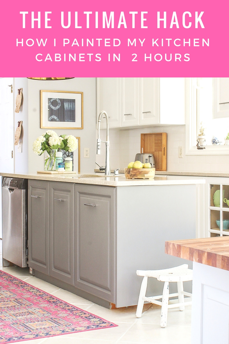 Bon The Easiest And Fastest Way To Paint Kitchen Cabinets
