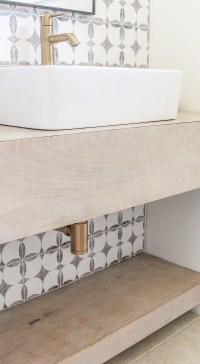 Floating Vanity DIY - Modern Bathroom Decor