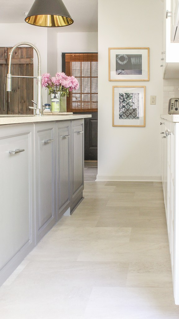 A Review of My Luxury Vinyl Tile Flooring - Click and Lock LVT Follow Up