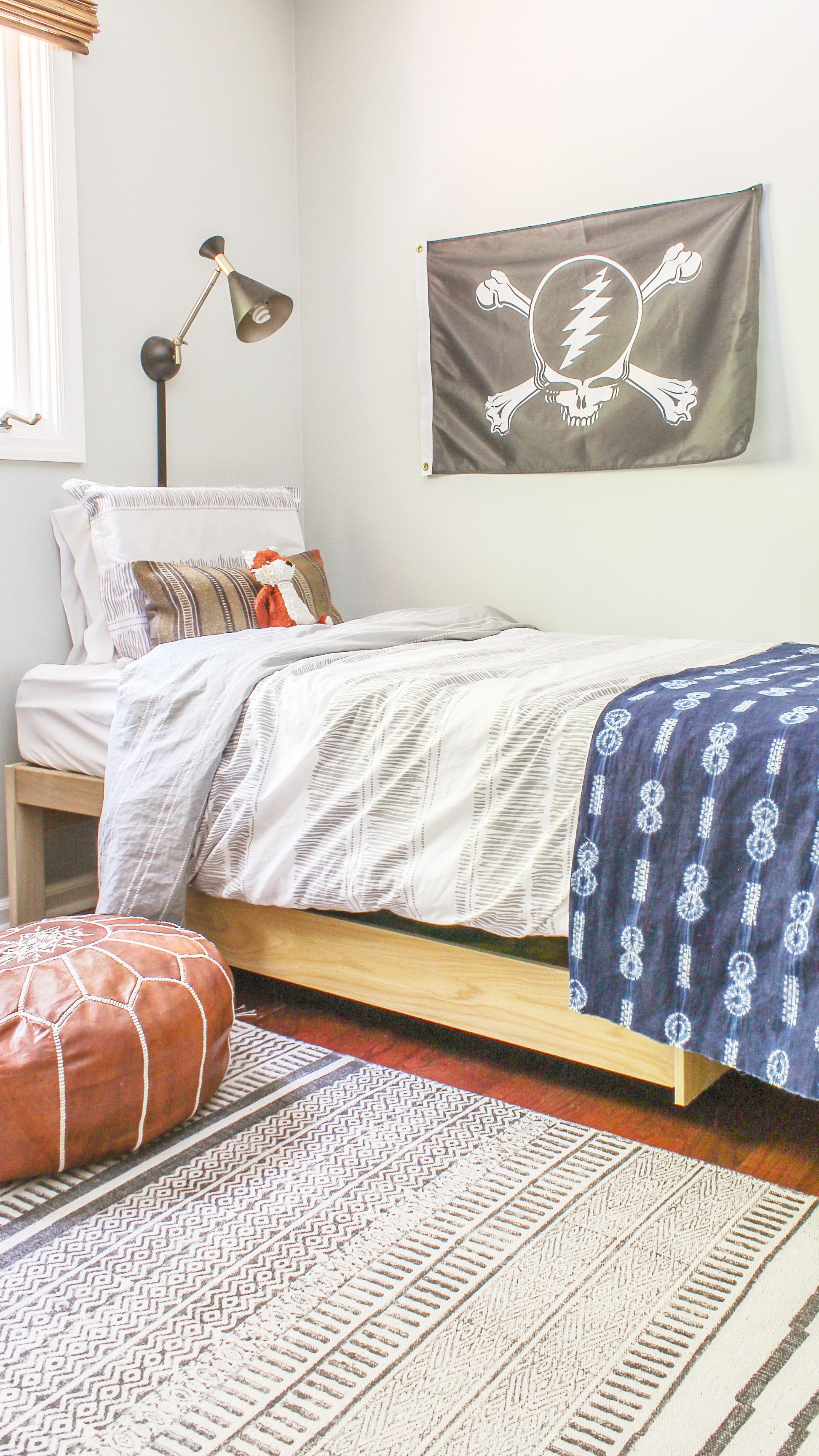 Designing Vibes & Boho Modern Kid Room - Roman\u0027s Big Boy Room Reveal