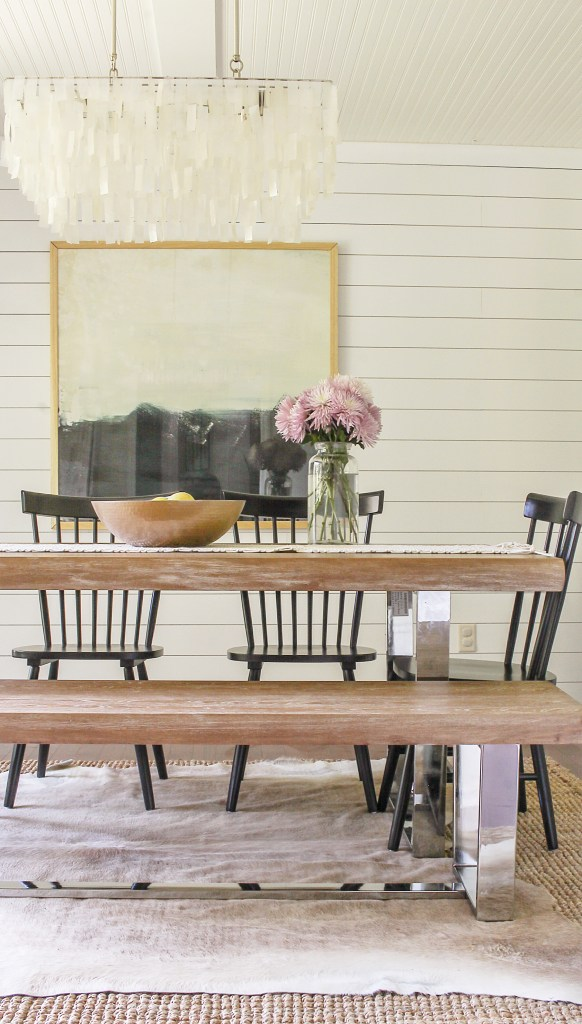 Modern Farmhouse Dining Room Reveal Interior Design Ideas On A Budget