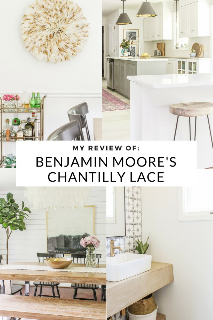 My Review Of Benjamin Moore S Chantilly Lace Best White