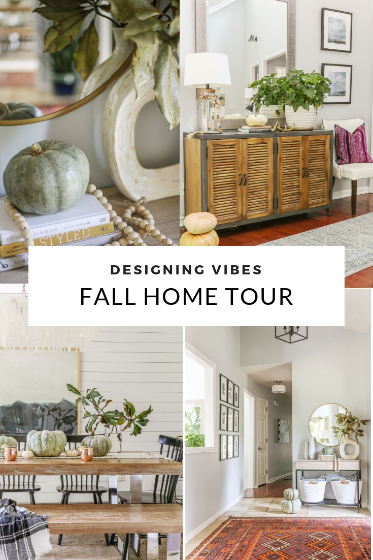 Affordable Modern Farmhouse Fall Decorating Designing