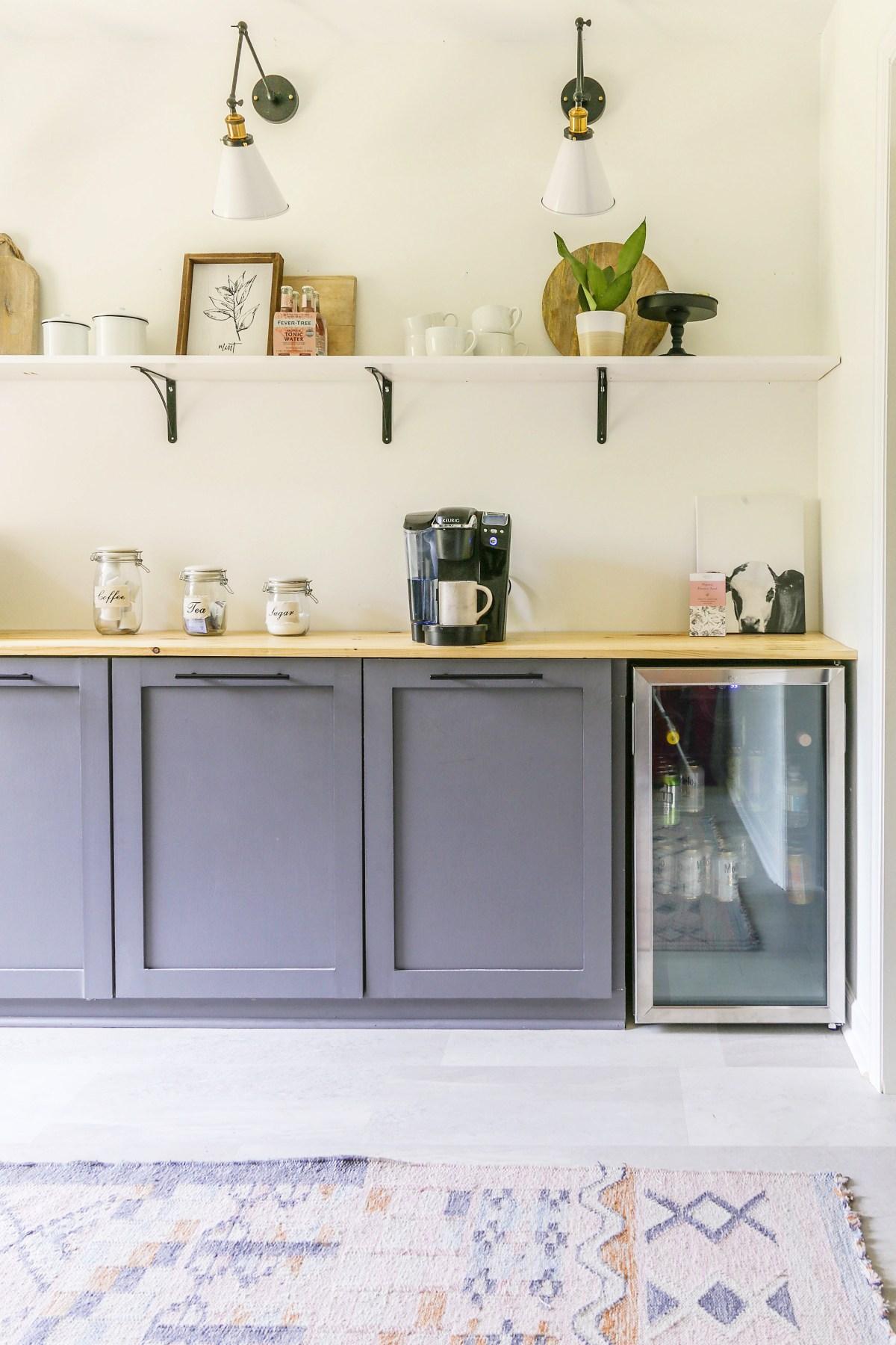 Diy Butler Pantry Reveal With Modern Farmhouse Coffee Bar Build