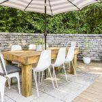 Diy Modern Farmhouse Outdoor Dining Table On The Cheap