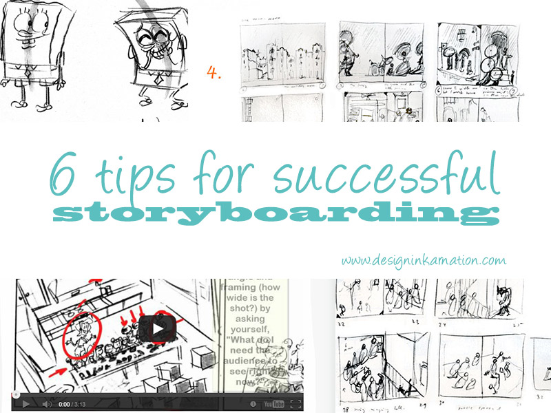 Tips for Successful Storyboarding for Illustrators